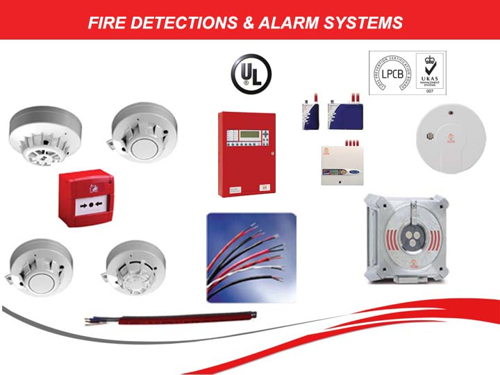 Fire Detection & Alarm systems