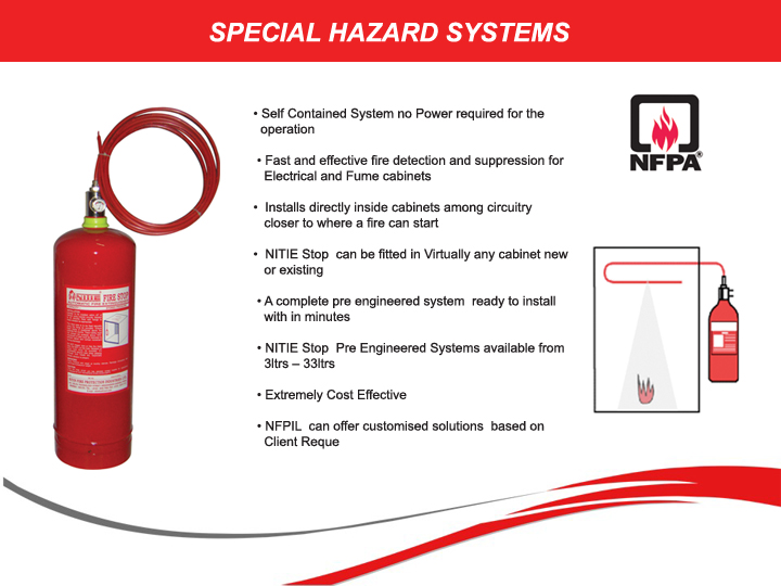 SPECIAL HAZARDS SYSTEMS
